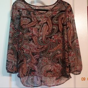 Charlotte Russe | Career Blouse | Size Small